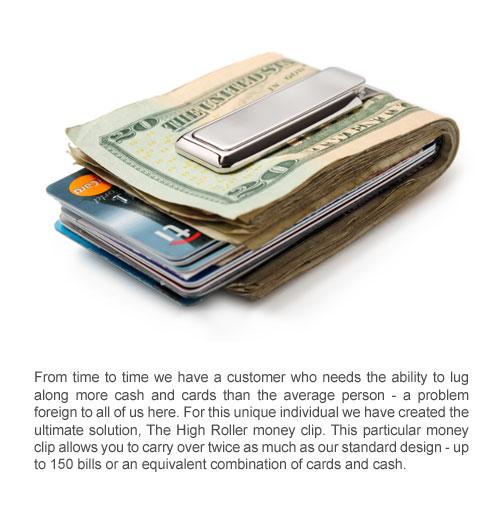 SS-BSS-0000-P M-Clip Money Clip SS-BSS-BRPB M-Clip Stainless Steel Money Clip